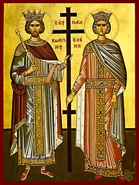 Αποτέλεσμα εικόνας για εικονεσ αγιου κωνσταντινου και ελενησ