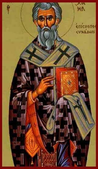 Αποτέλεσμα εικόνας για άγιος Μιχαήλ συνάδων