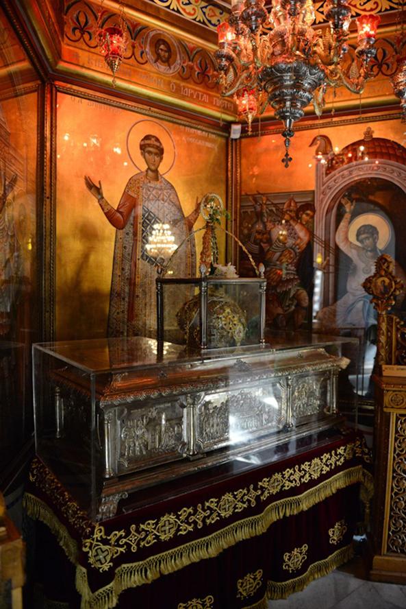 Αποτέλεσμα εικόνας για Το θαύμα της Μυρόβλυσης του Αγίου Δημητρίου